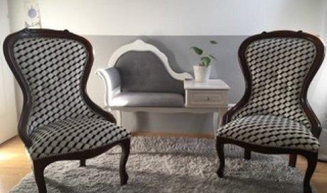 Restauration complète d'un fauteuil Saintes
